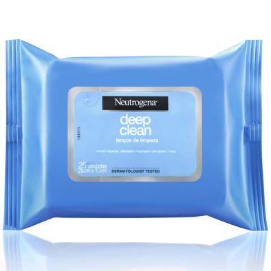 Lenço De Limpeza Facial Demaquilante, Neutrogena, R$ 21,99